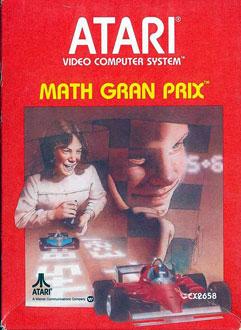 Juego online Math Gran Prix (Atari 2600)