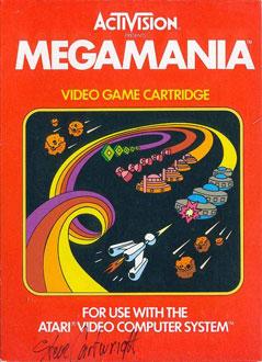 Juego online Megamania (Atari 2600)