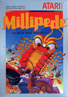 Juego online Millipede (Atari 2600)