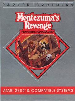 Juego online Montezuma's Revenge: Featuring Panama Joe (Atari 2600)