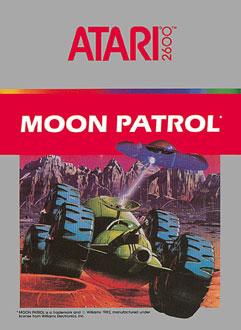 Juego online Moon Patrol (Atari 2600)