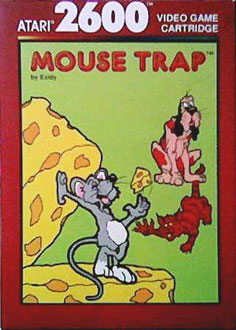 Juego online Mouse Trap (Atari 2600)