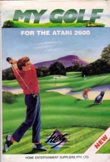 Juego online My Golf (Atari 2600)