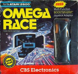 Juego online Omega Race (Atari 2600)