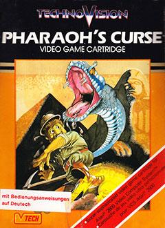 Juego online Pharaoh's Curse (Atari 2600)