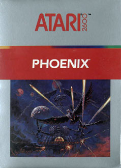 Carátula del juego Phoenix (Atari 2600)