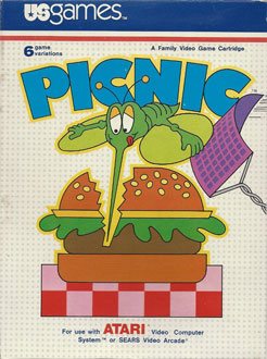 Juego online Picnic (Atari 2600)