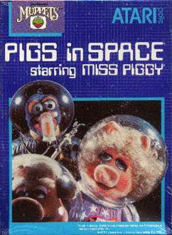 Juego online Pigs in Space starring Miss Piggy (Atari 2600)