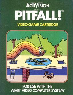 Carátula del juego Pitfall (Atari 2600)