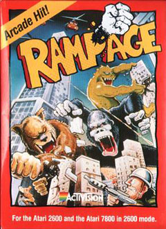 Juego online Rampage (Atari 2600)