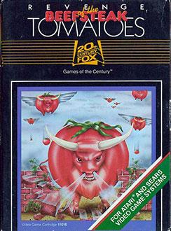 Juego online Revenge of the Beefsteak Tomatoes (Atari 2600)