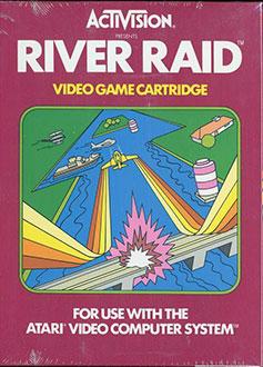 Juego online River Raid (Atari 2600)