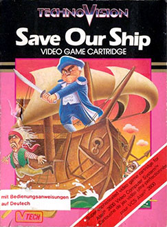 Juego online Save Our Ship (Atari 2600)