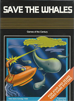 Juego online Save the Whales (Atari 2600)