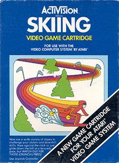 Juego online Skiing (Atari 2600)