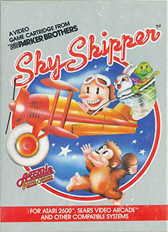 Juego online Sky Skipper (Atari 2600)