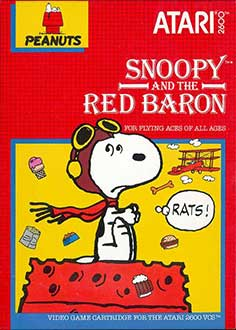 Juego online Snoopy and the Red Baron (Atari 2600)