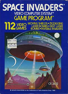 Juego online Space Invaders (Atari 2600)