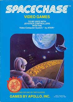 Juego online Spacechase (Atari 2600)