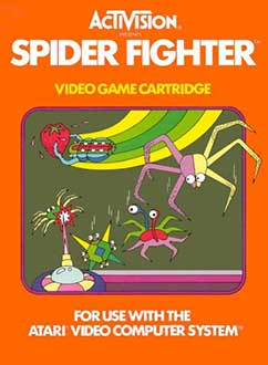 Juego online Spider Fighter (Atari 2600)