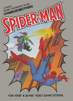 Carátula del juego Spider-Man (Atari 2600)