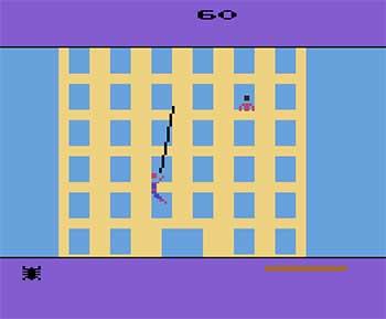 Pantallazo del juego online Spider-Man (Atari 2600)