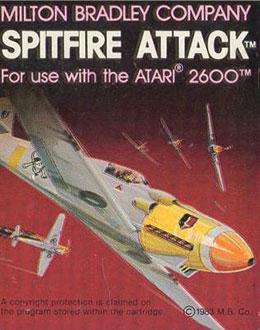 Juego online Spitfire Attack (Atari 2600)