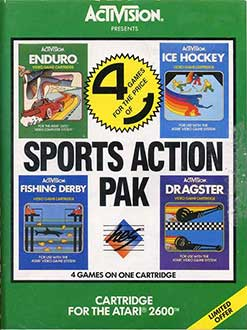 Juego online Sports Action Pack (Atari 2600)