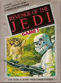 Portada de la descarga de Star Wars – Return of the Jedi – Ewok Adventure