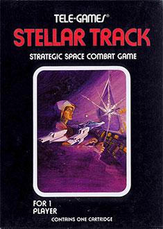 Juego online Stellar Track (Atari 2600)