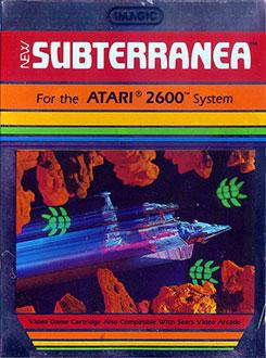 Juego online Subterranea (Atari 2600)