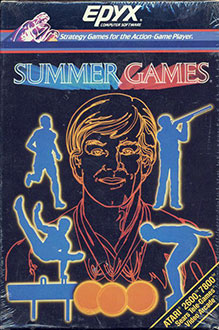 Juego online Summer Games (Atari 2600)