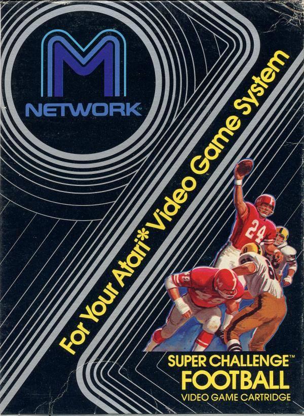 Juego online Super Challenge Football (Atari 2600)