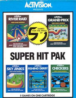 Juego online Super Hit Pack (Atari 2600)