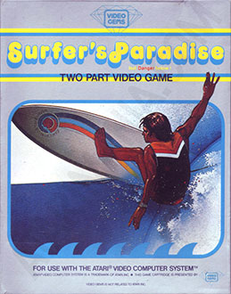 Juego online Surfer's Paradise: But Danger Below! (Atari 2600)
