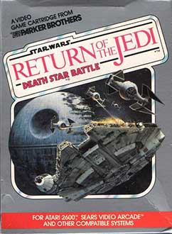 Juego online Star Wars: Return of the Jedi - Death Star Battle (Atari 2600)
