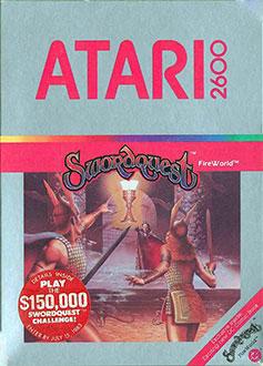 Juego online SwordQuest: FireWorld (Atari 2600)