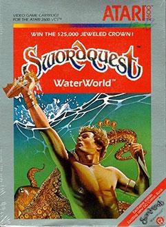 Juego online SwordQuest: WaterWorld (Atari 2600)
