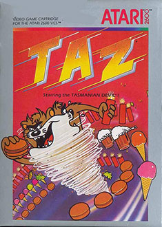 Juego online Taz (Atari 2600)