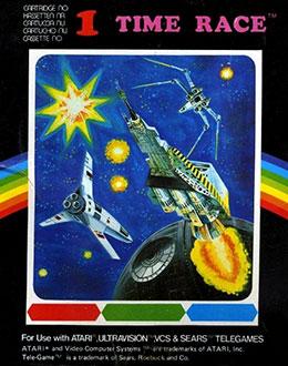 Juego online Time Race (Atari 2600)