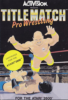 Juego online Title Match Pro Wrestling (Atari 2600)