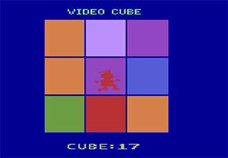 Pantallazo del juego online Video Cube (Atari 2600)