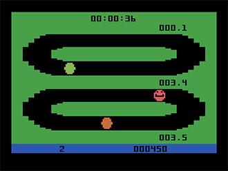 Pantallazo del juego online Video Jogger (Atari 2600)