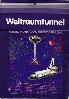 Carátula del juego Weltraum Tunnel (Atari 2600)