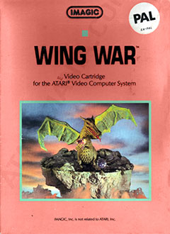 Carátula del juego Wing War (Atari 2600)