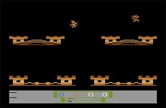 Pantallazo del juego online Wing War (Atari 2600)