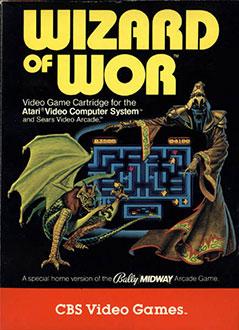Portada de la descarga de Wizard of Wor