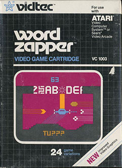 Portada de la descarga de Word Zapper