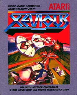 Portada de la descarga de Xevious