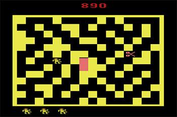 Pantallazo del juego online X-Man (Atari 2600)